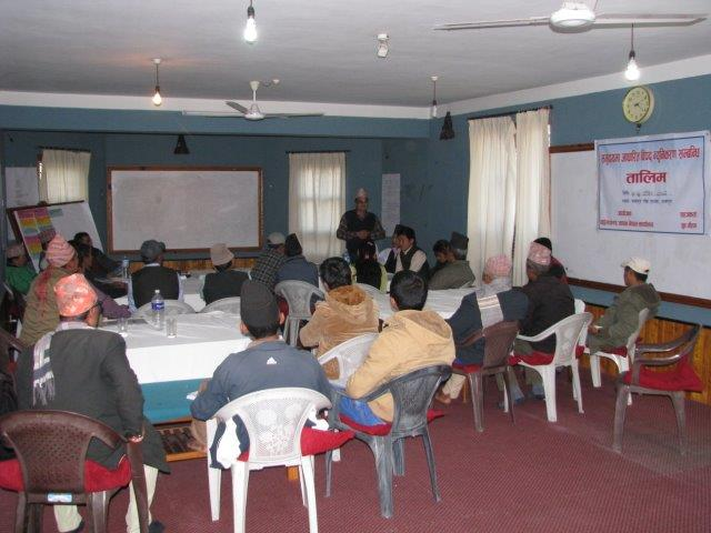 CBDRR training for Rampur